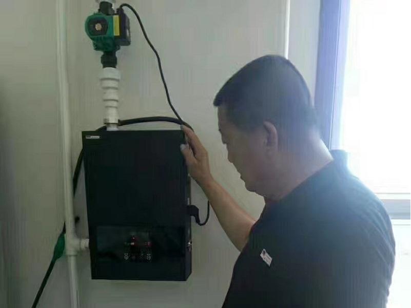 电壁挂炉案例